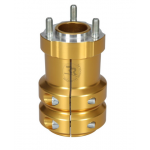 ALUMINIUM WHEEL'S HUB 50/115-8 ANODIZED GOLD